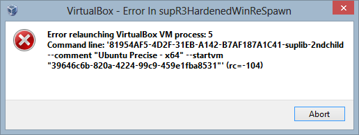 VirtualBox - Error.png