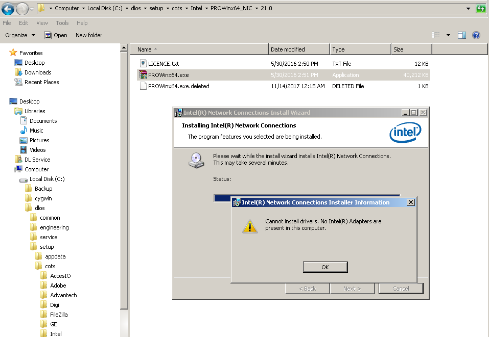 virtualbox install Intel Network connections VirtualBox.png